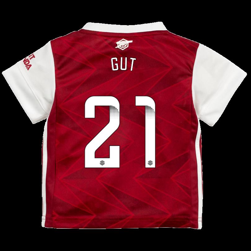 Arsenal 20/21 Home Baby Kit