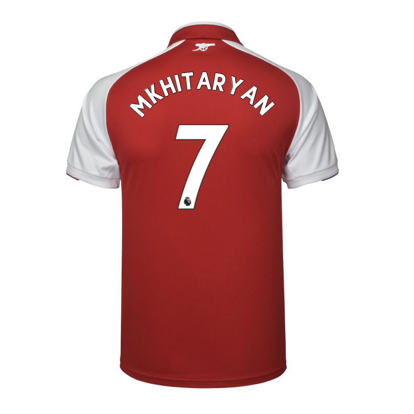 Arsenal Junior 17/18 Home Shirt