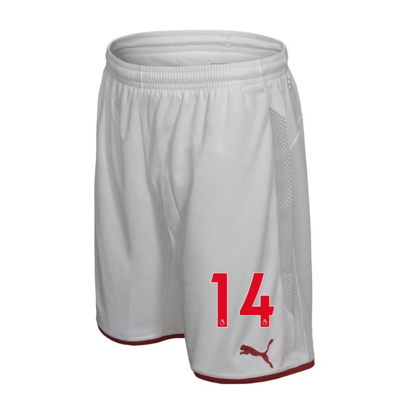 Arsenal Junior 17/18 Home Shorts