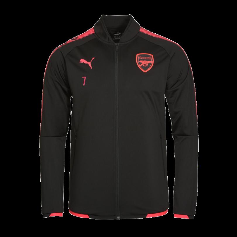 Arsenal Junior 17/18 Third Stadium Jacket