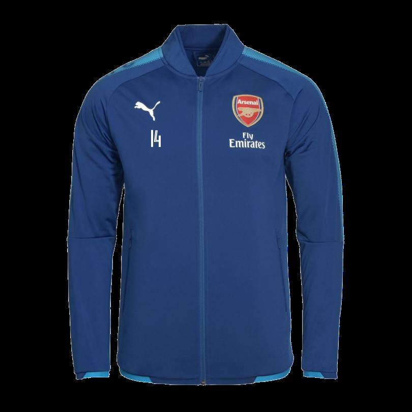Arsenal Junior 17/18 Away Stadium Jacket