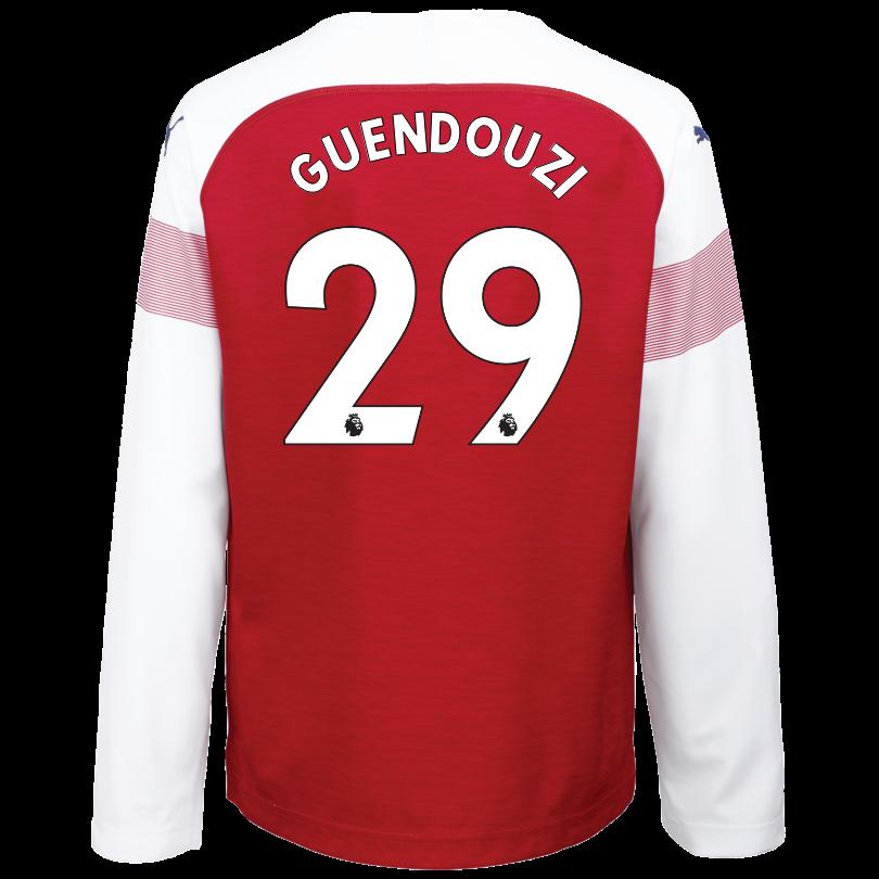 Arsenal Junior 18/19 Long Sleeved Home Shirt