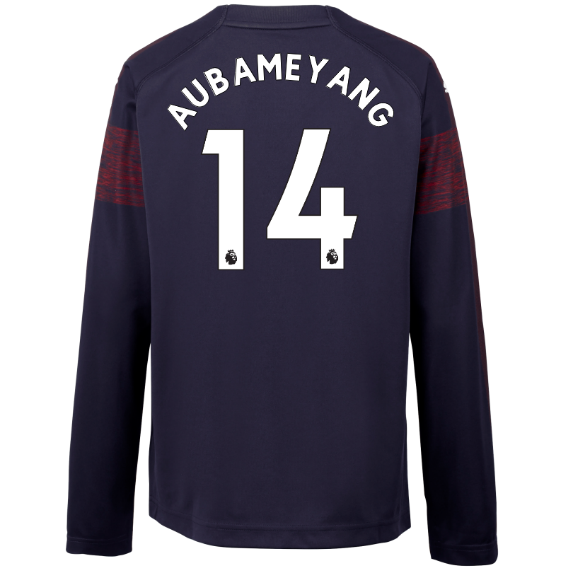 Arsenal Junior 18/19 Long Sleeved Away Shirt