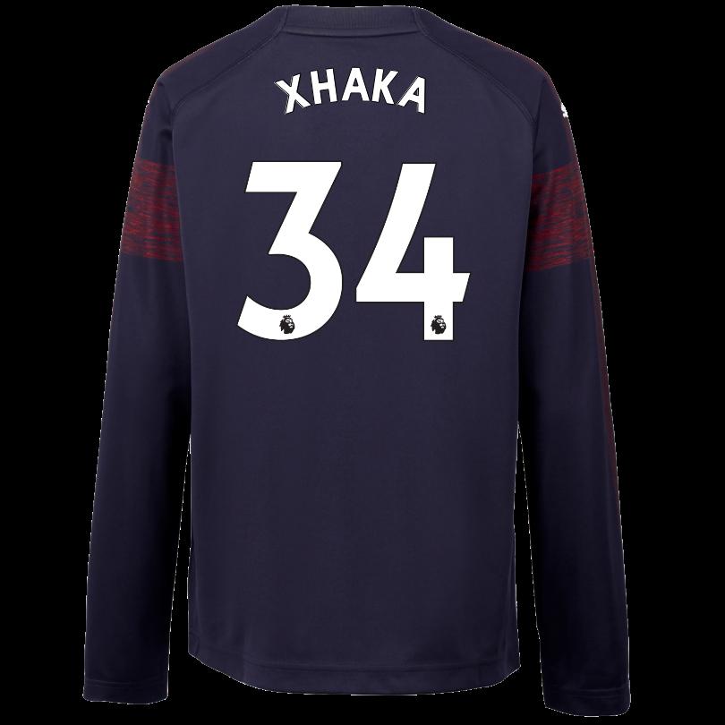 Arsenal Junior 18/19 Long Sleeved Away Shirt