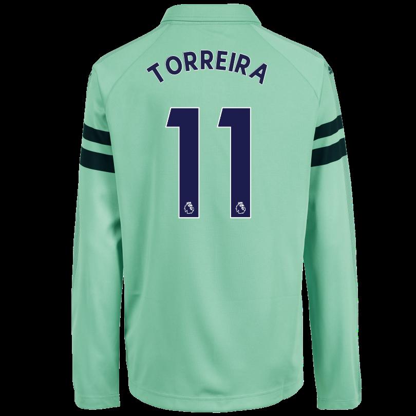 Arsenal Junior 18/19 Long Sleeved Third Shirt