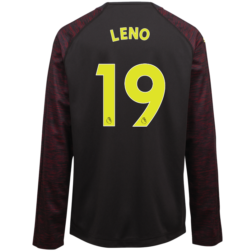 Arsenal Junior 18/19 Black Goalkeeper Shirt