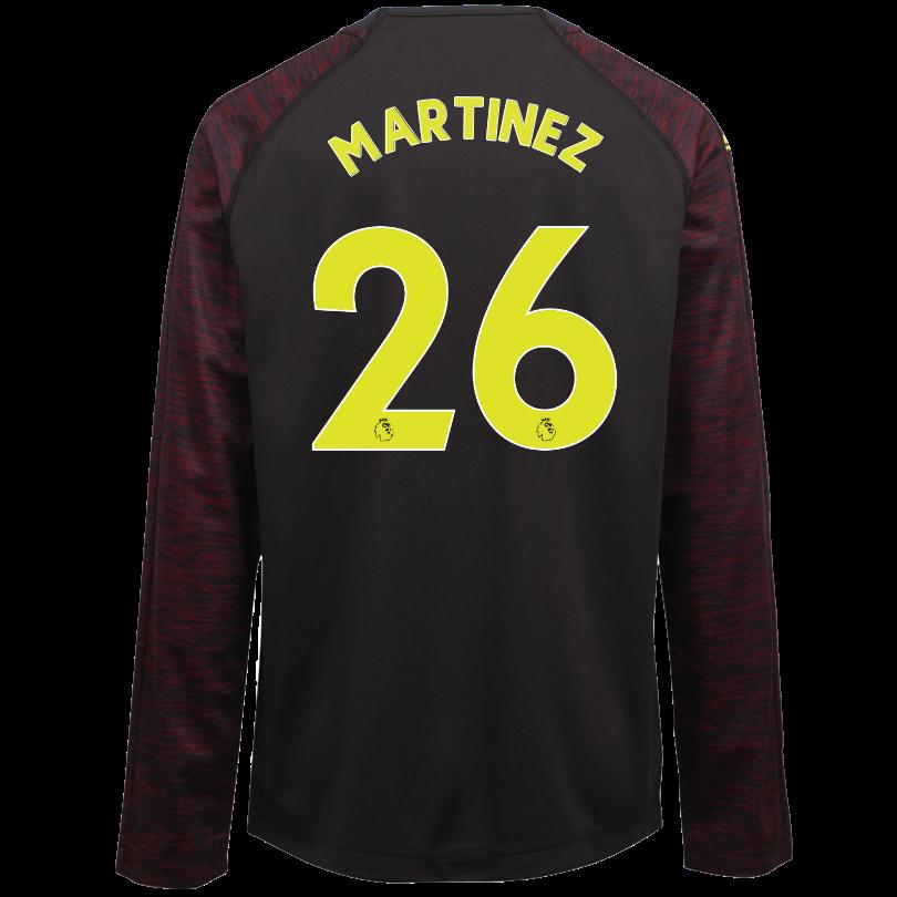 Arsenal Junior 18/19 Black Goalkeeper Shirt