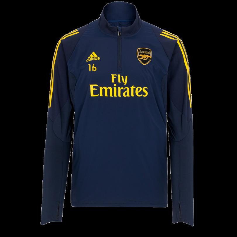 Arsenal Junior 19/20 1/4 Zip Training Sweatshirt