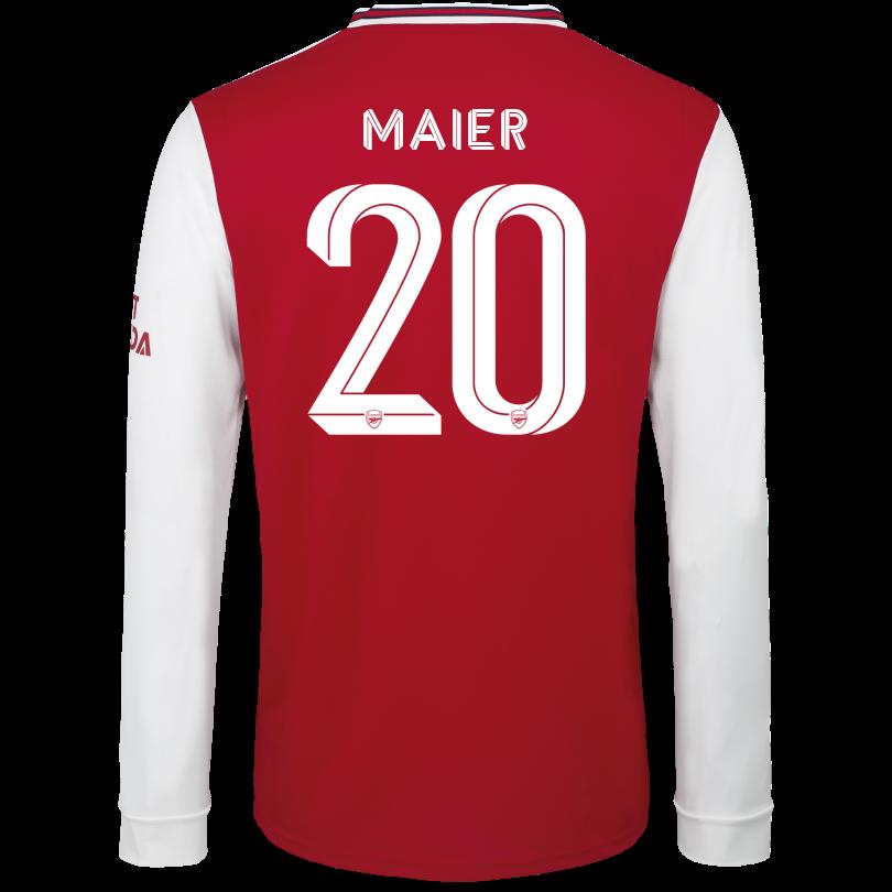 Arsenal Junior 19/20 Long Sleeved Home Shirt
