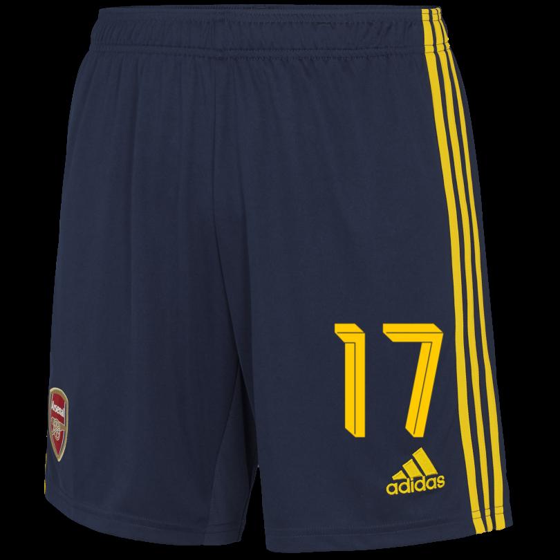 Arsenal Junior 19/20 Away Shorts