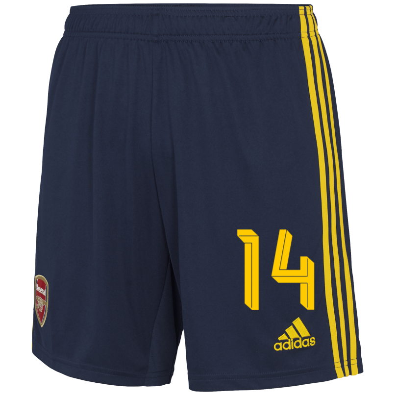 Arsenal Junior 19/20 Away Shorts