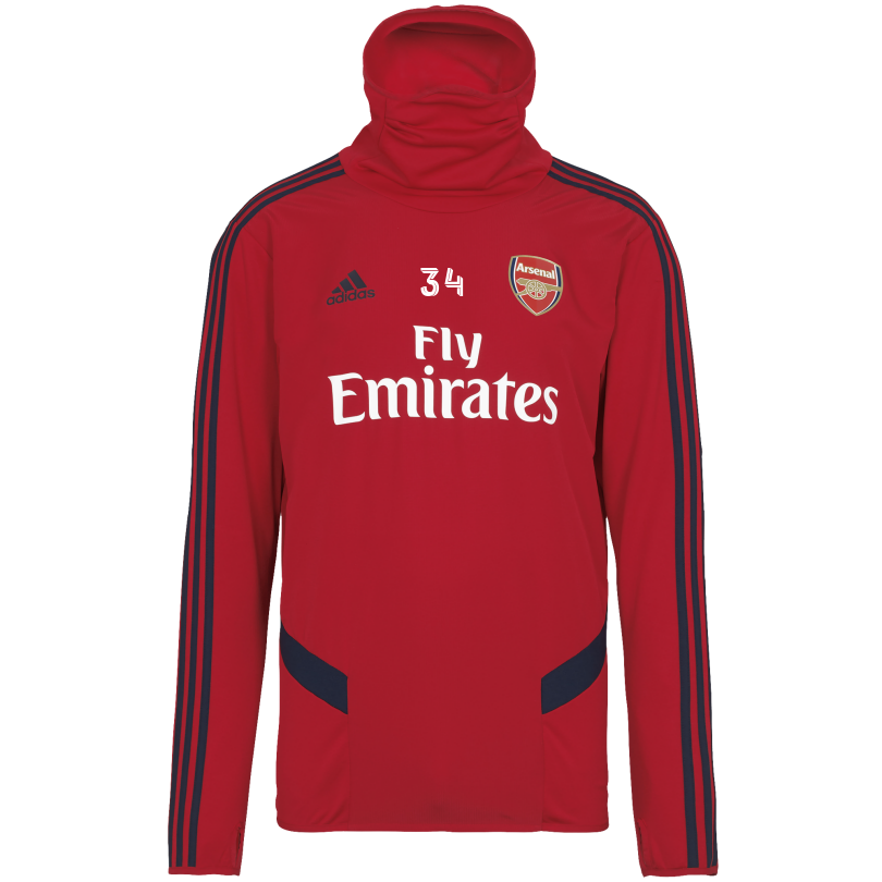 Arsenal Junior 19/20 Warm Top