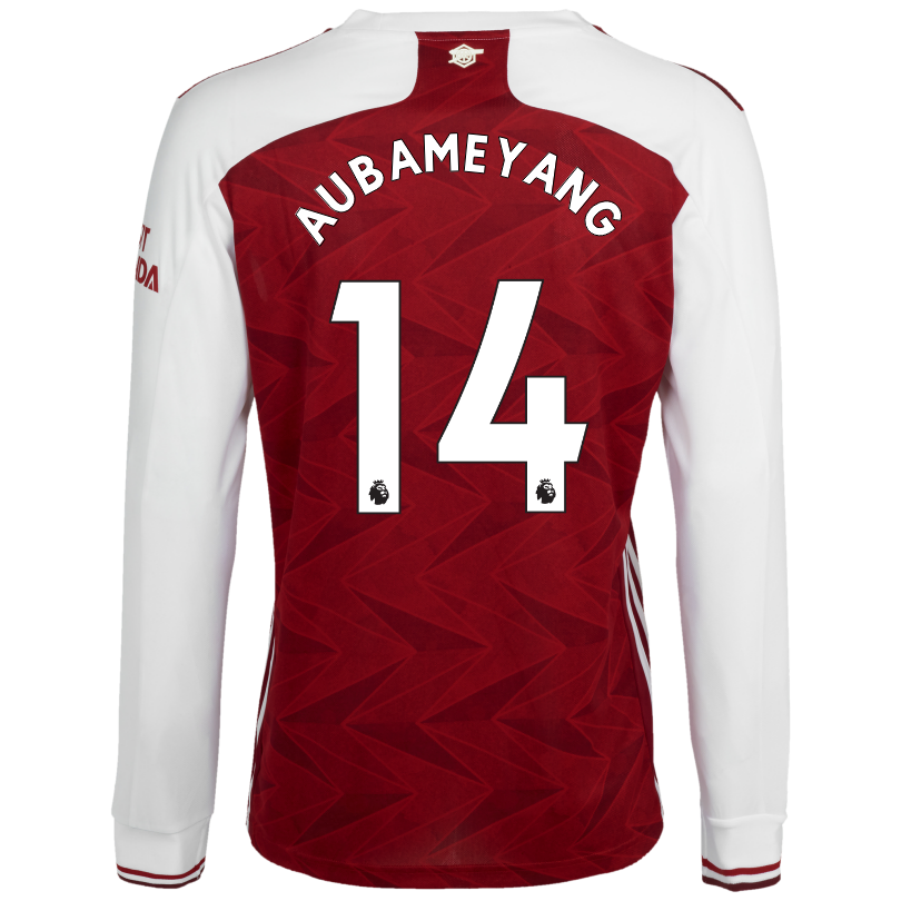 Arsenal Junior 20/21 Long Sleeved Home Shirt