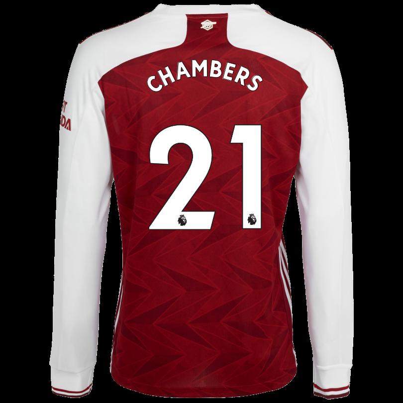 Arsenal Junior 20/21 Long Sleeved Home Shirt