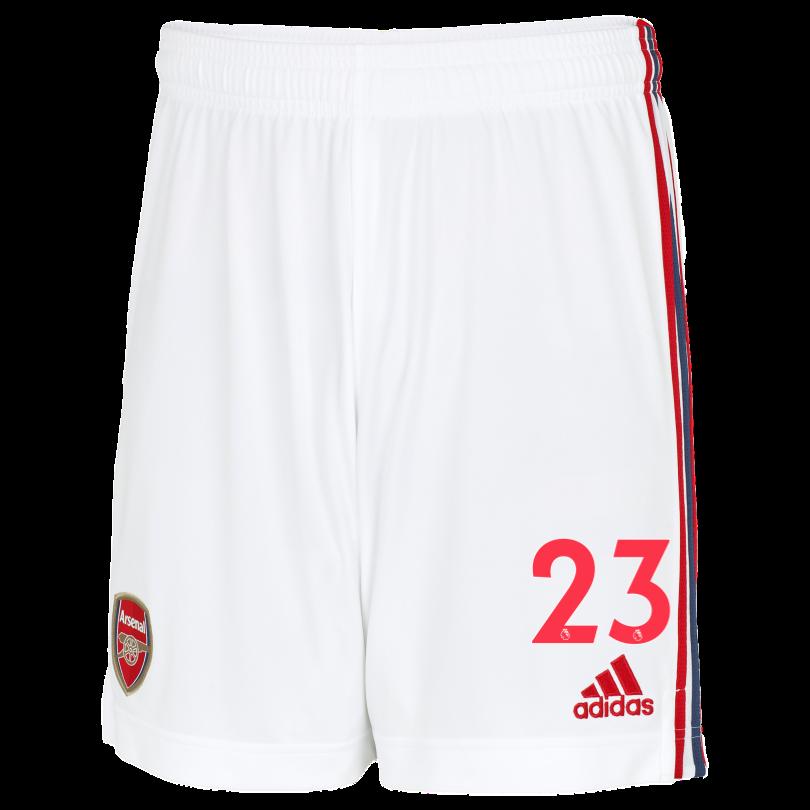 Arsenal Junior 21/22 Home Shorts