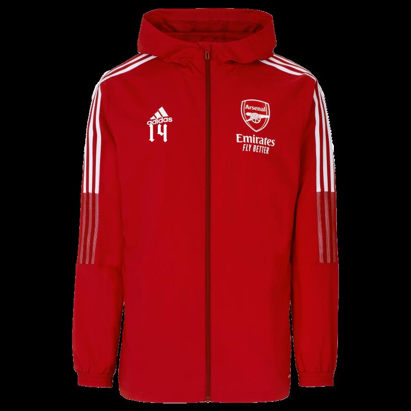 Arsenal Junior 21/22 Presentation Jacket