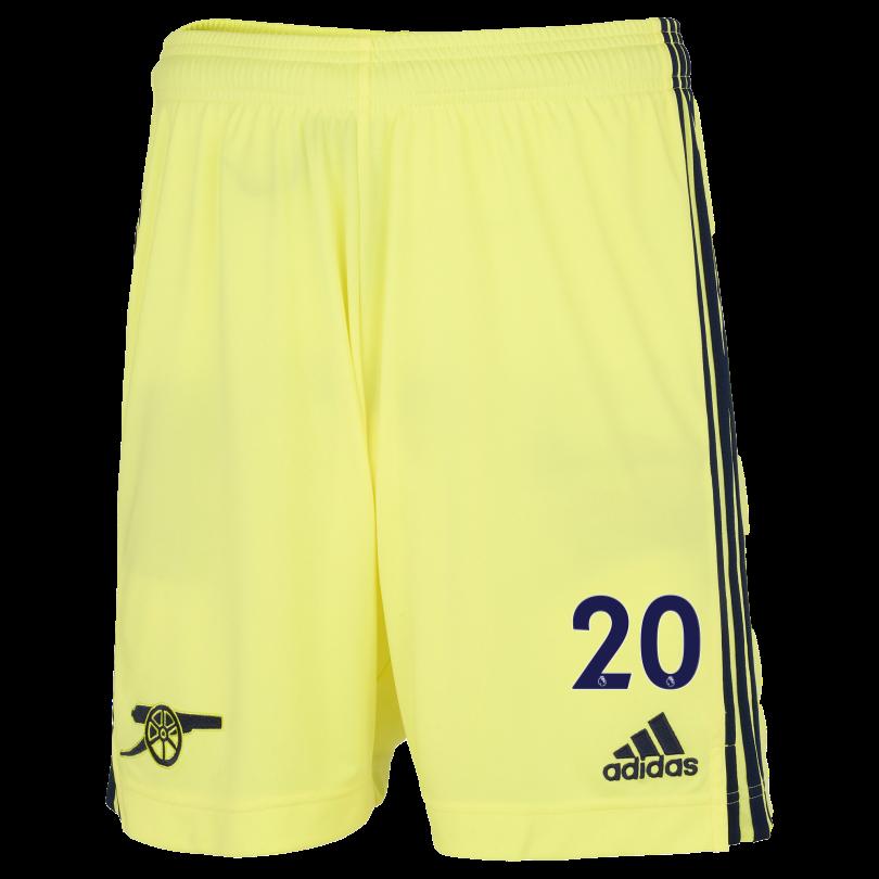 Arsenal Junior 21/22 Away Shorts