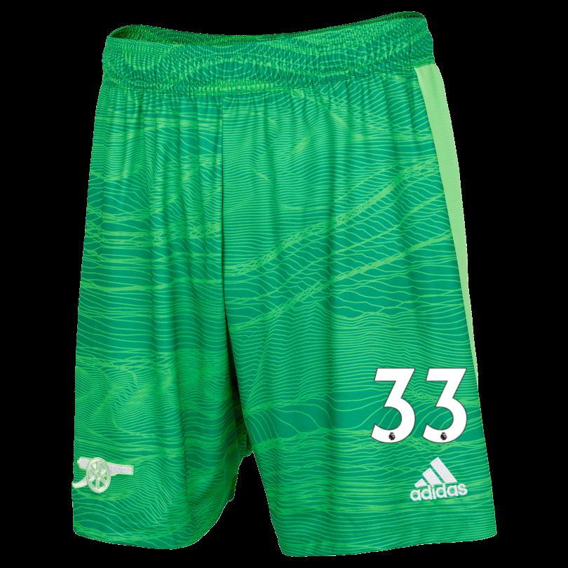 Arsenal Junior 21/22 Goalkeeper Shorts