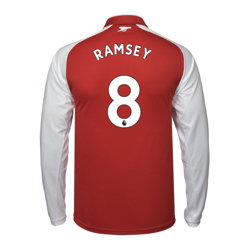 Arsenal Adult 17/18 Long Sleeved Home Shirt