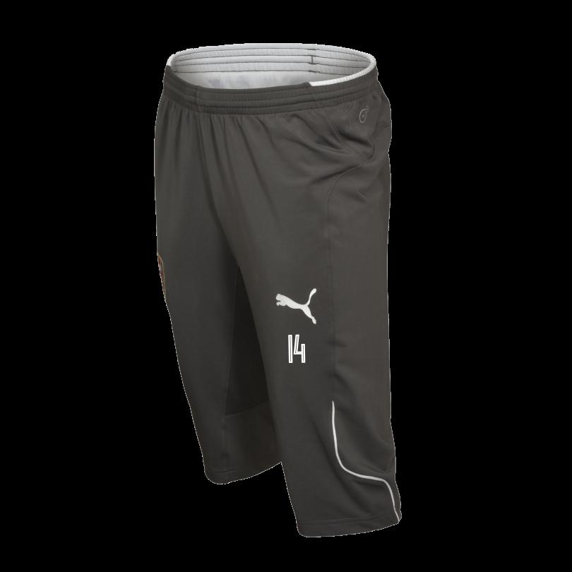 Arsenal Adult 17/18 3/4 Length Grey Training Pants