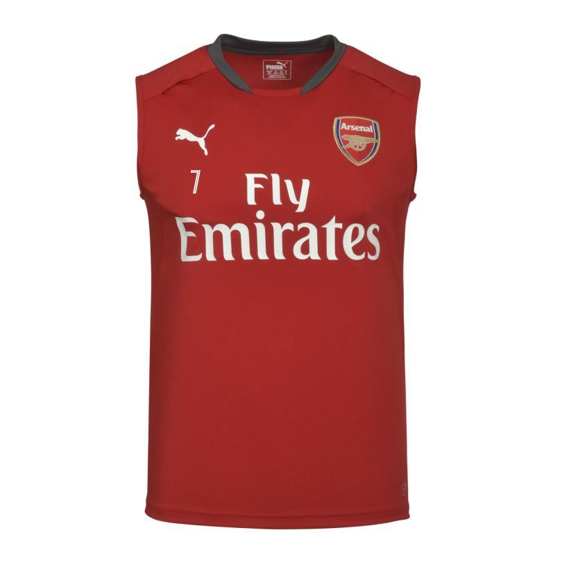 Arsenal 17/18 Sleeveless Home Training Shirt