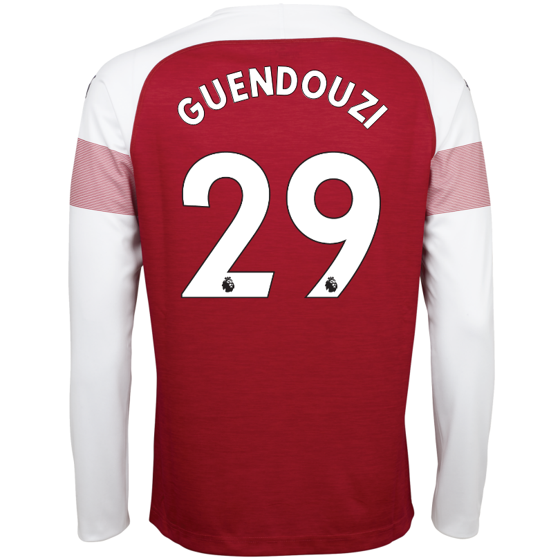 Arsenal Adult 18/19 Long Sleeved Home Shirt
