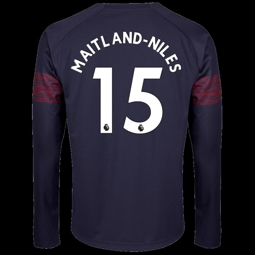 Arsenal Adult 18/19 Long Sleeved Away Shirt
