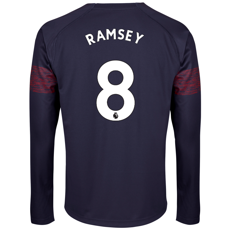 Arsenal Adult 18/19 Long Sleeved Away Shirt