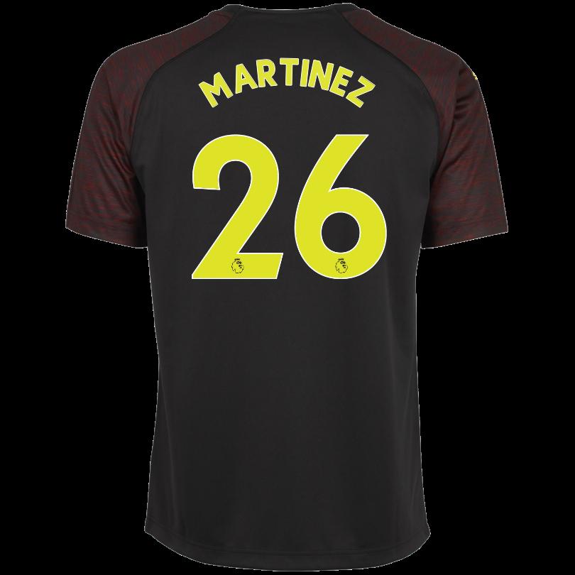 Arsenal Adult 18/19 Black Goalkeeper Shirt