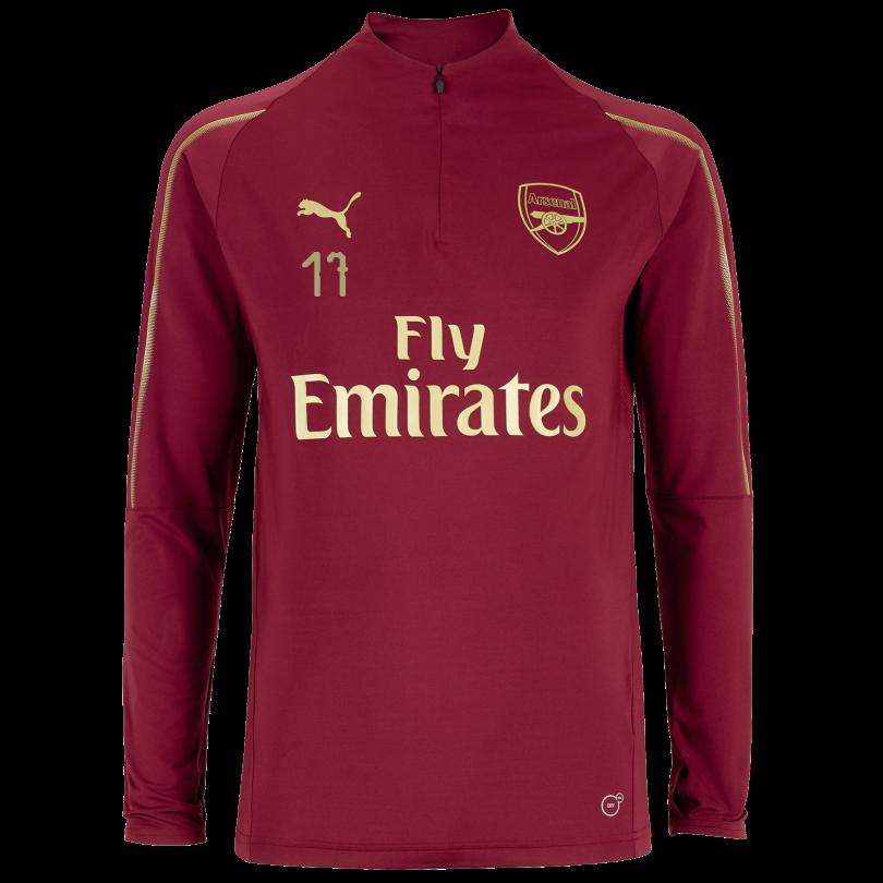 Arsenal 18/19 Red 1/4 Zip Training Top