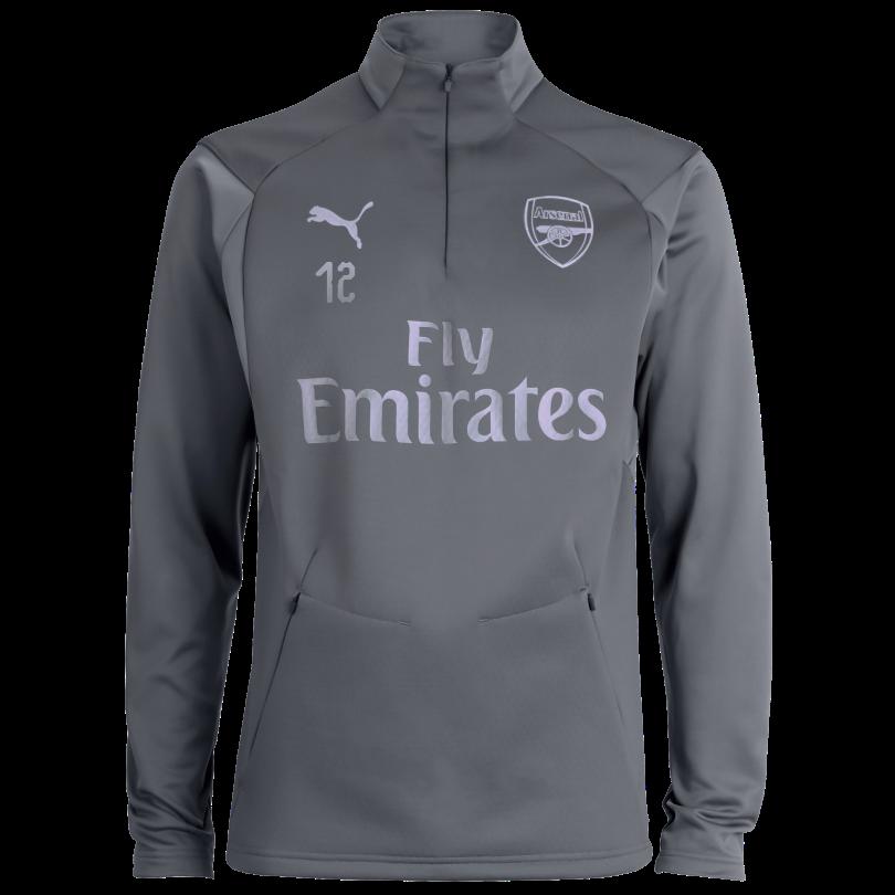 Arsenal 18/19 Grey Training Fleece