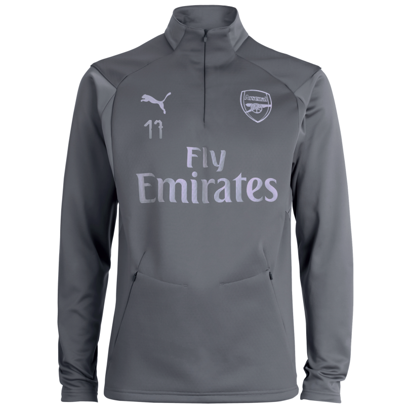 Arsenal 18/19 Grey Training Fleece