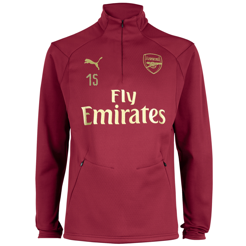 Arsenal 18/19 Red Training Fleece