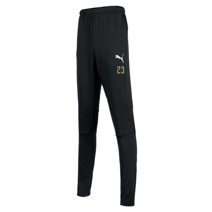 Arsenal Adult 18/19 Black Fitted Training Pants
