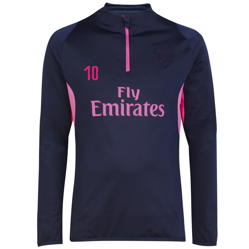 Arsenal 18/19 ftblNXT 1/4 Zip Training Top