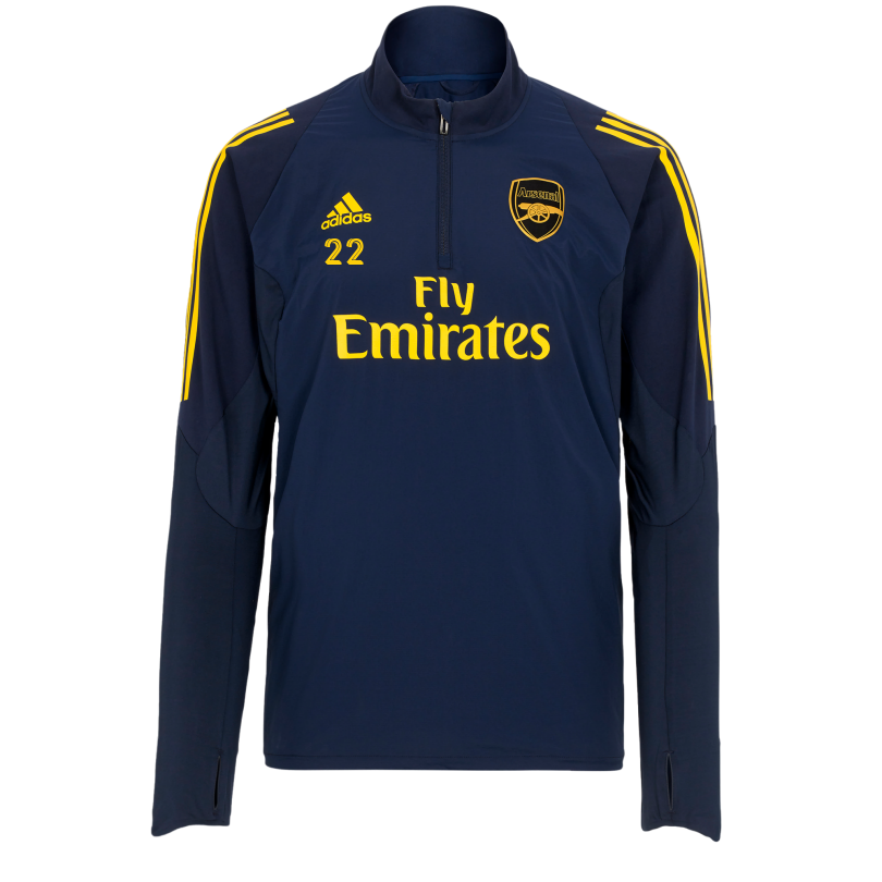 Arsenal Adult 19/20 1/4 Zip Training Sweatshirt