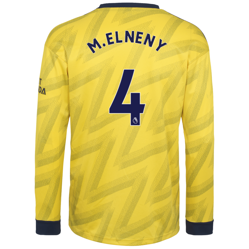 Arsenal Adult 19/20 Long Sleeved Away Shirt