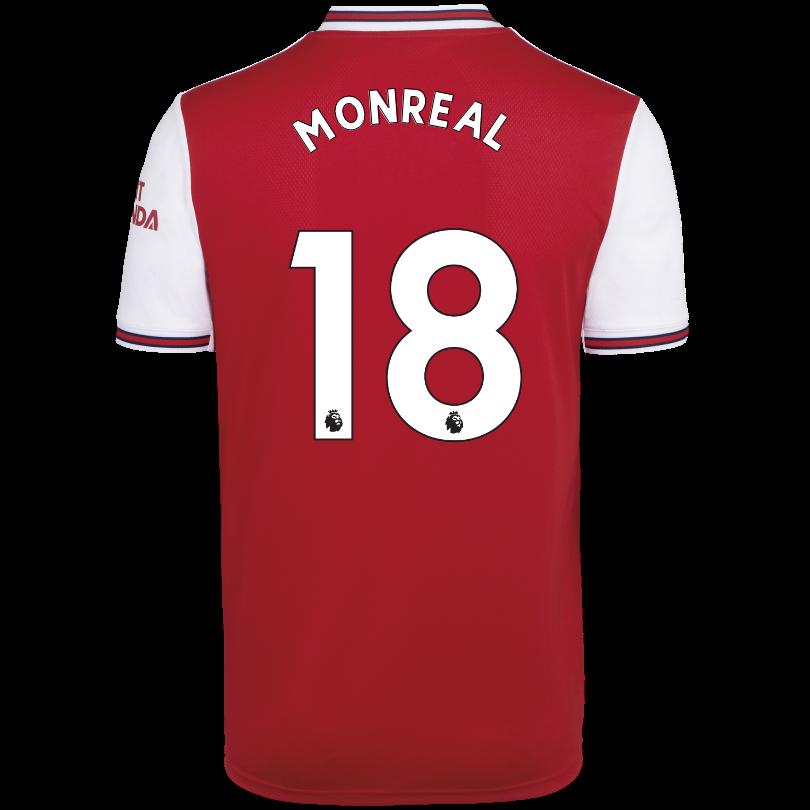 Arsenal Adult 19/20 Home Shirt