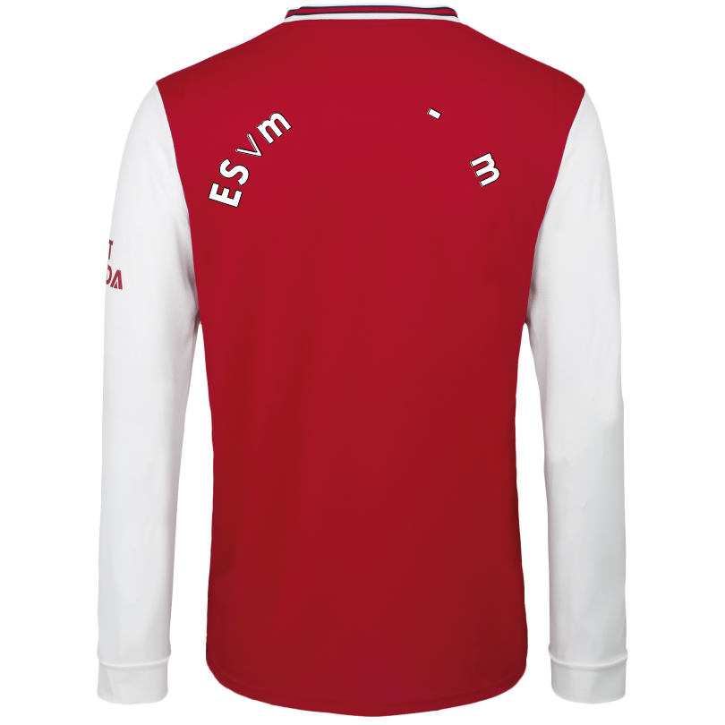Arsenal Adult 19/20 Long Sleeved Home Shirt