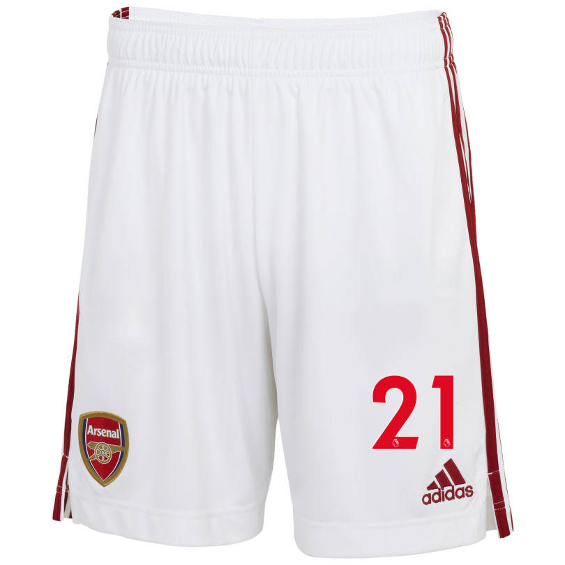Arsenal Adult 20/21 Home Shorts