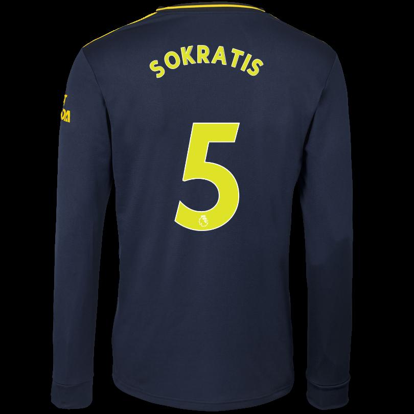 Arsenal Adult 19/20 Long Sleeved Third Shirt