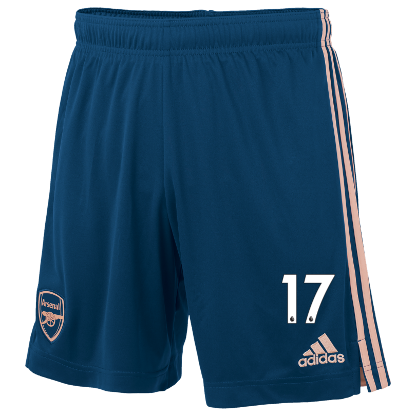 Arsenal Adult 20/21 Third Shorts