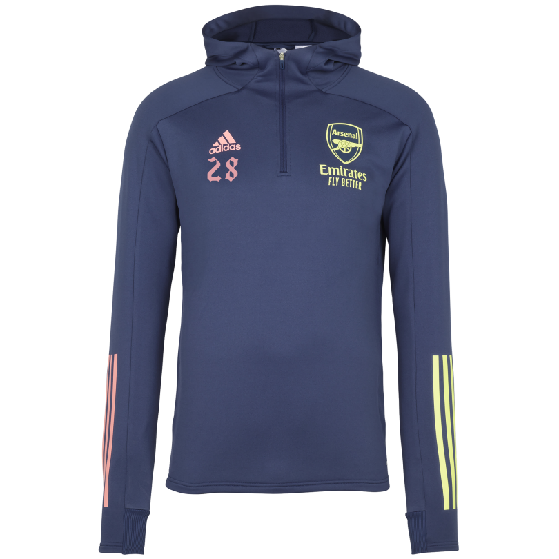 Arsenal Adult 20/21 Track Hooded Top