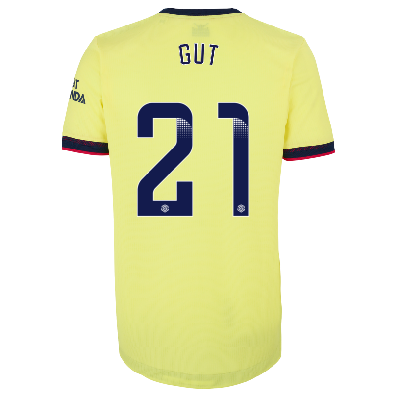 Arsenal Adult 21/22 Authentic Away Shirt