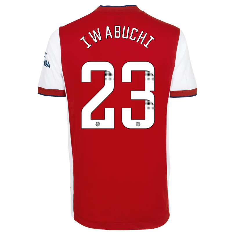 Arsenal Adult 21/22 Authentic Home Shirt