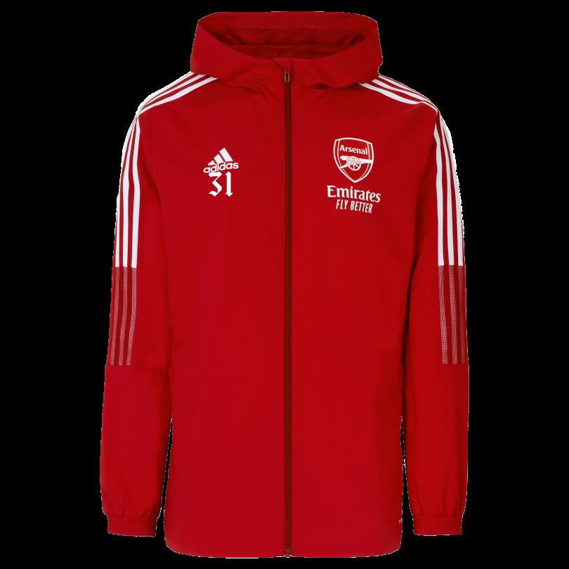 Arsenal Adult 21/22 Presentation Jacket