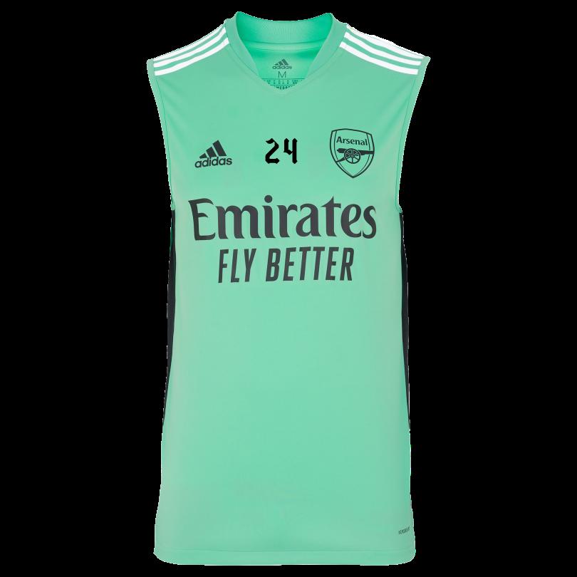 Arsenal Adult 21/22 Sleeveless Training Shirt
