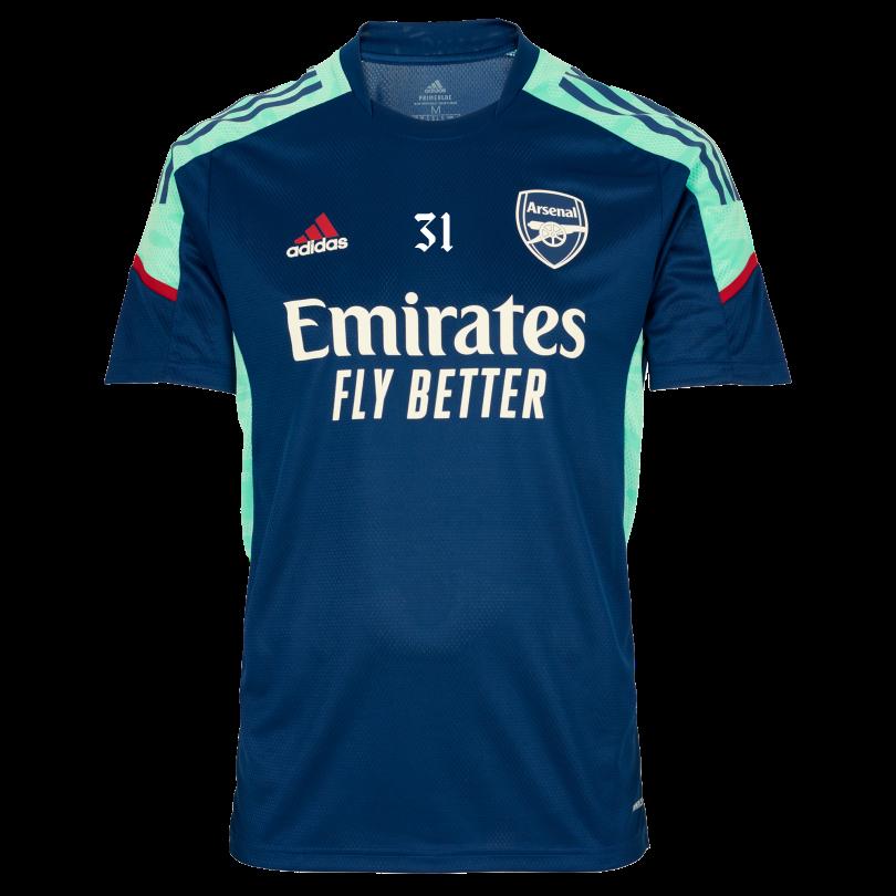Arsenal Adult 21/22 Pro Training Shirt