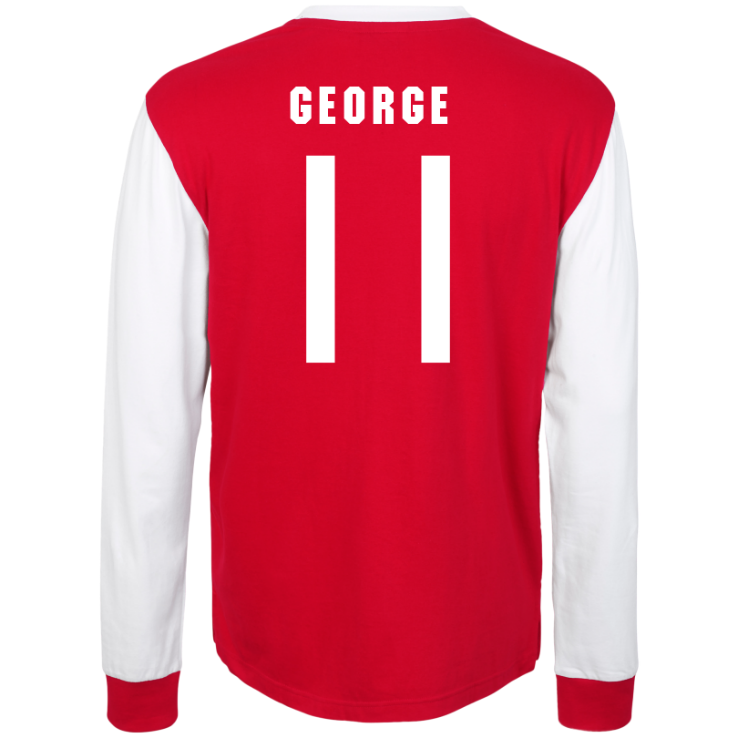 Arsenal 1970s Long Sleeve Home Shirt