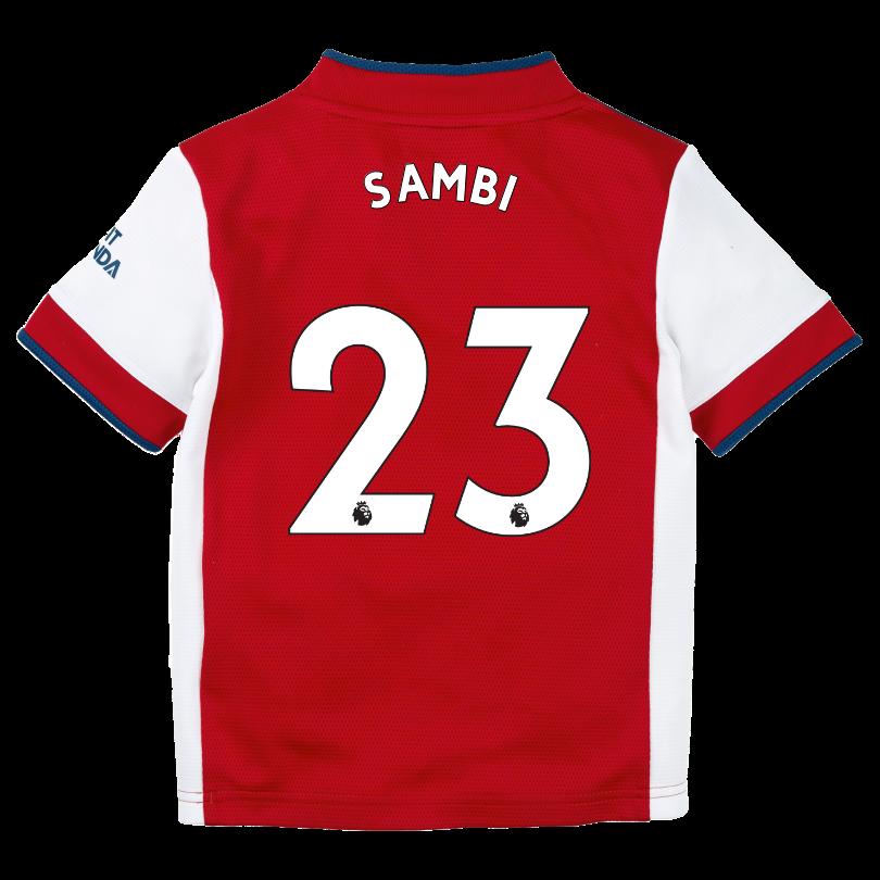 Arsenal 21/22 Home Mini Kit